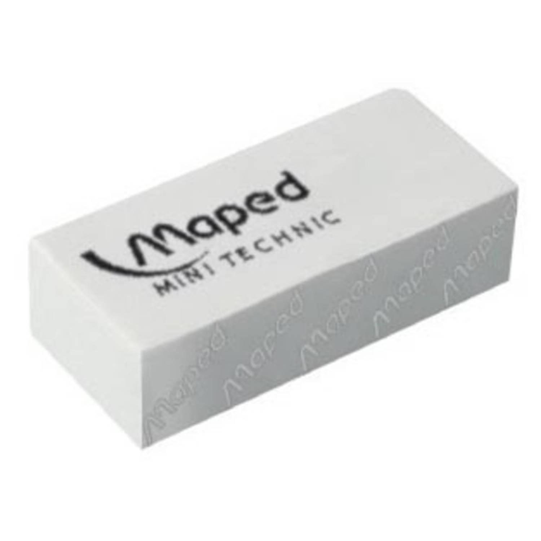 Korting Maped Gum Technic 300 Verpakt Onder Cellofaan, In Een Doos