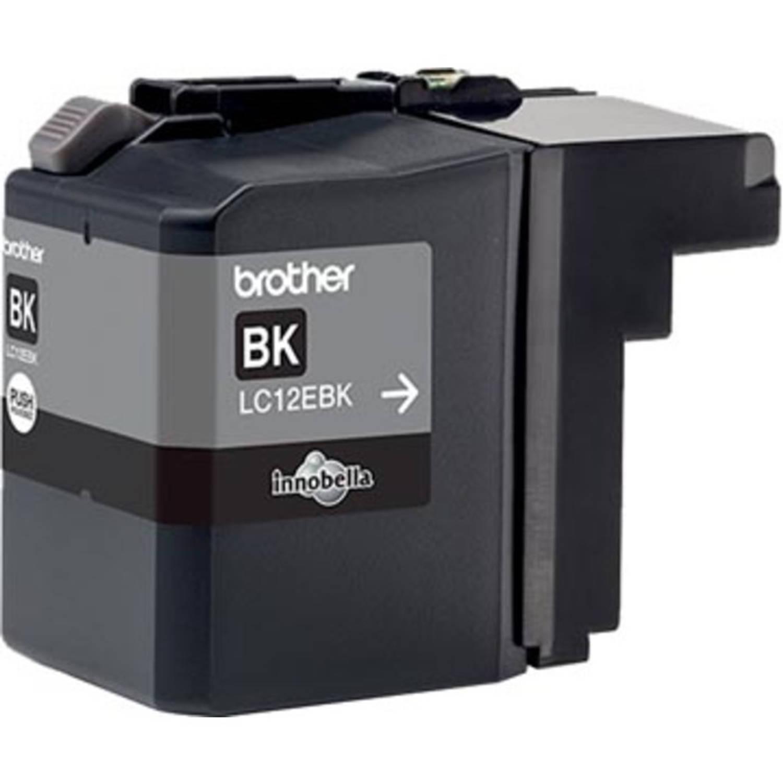 Brother inktcartridge zwart, 2.400 pagina's - OEM: LC-12EBK