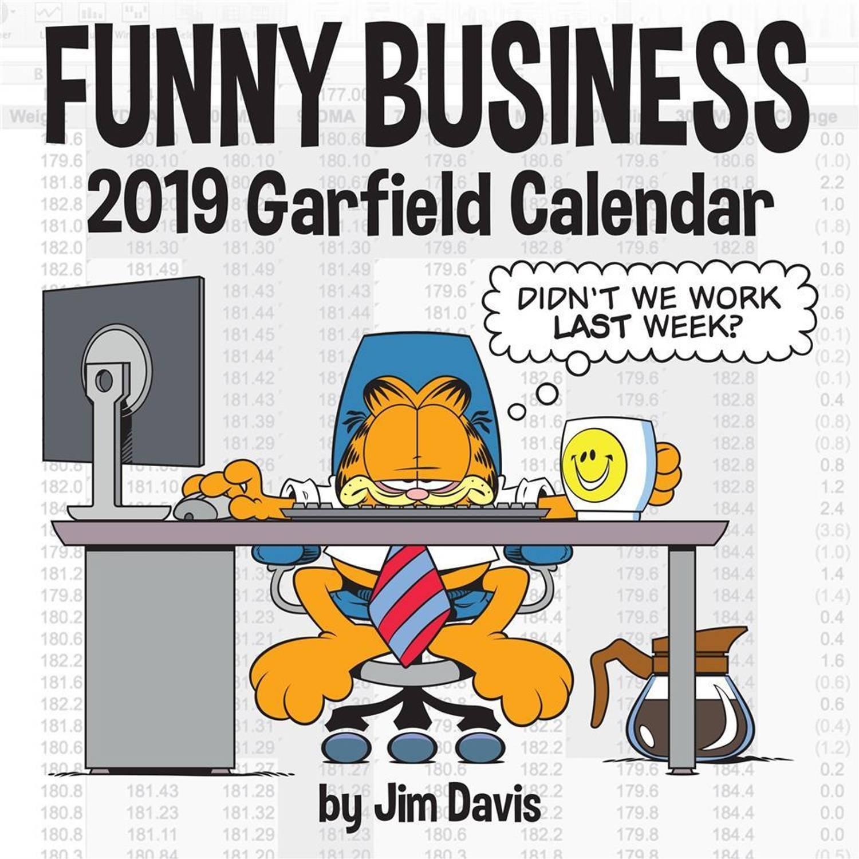 Afbeelding van Andrews McMeel kalender 2019 Garfield 30 x 30 cm (Engels)