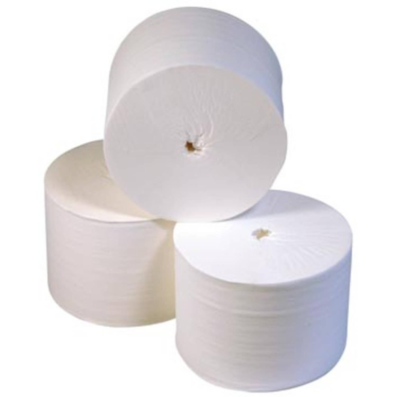 Europroducts toiletpapier zonder kern, 2-laags, 900 vellen, pak van 36 rollen
