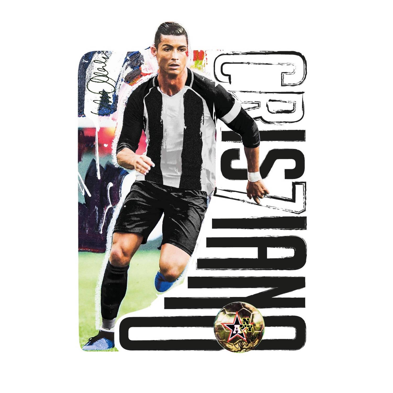 Imagicom telefoonsticker Cristiano Ronaldo 9 x 6 cm