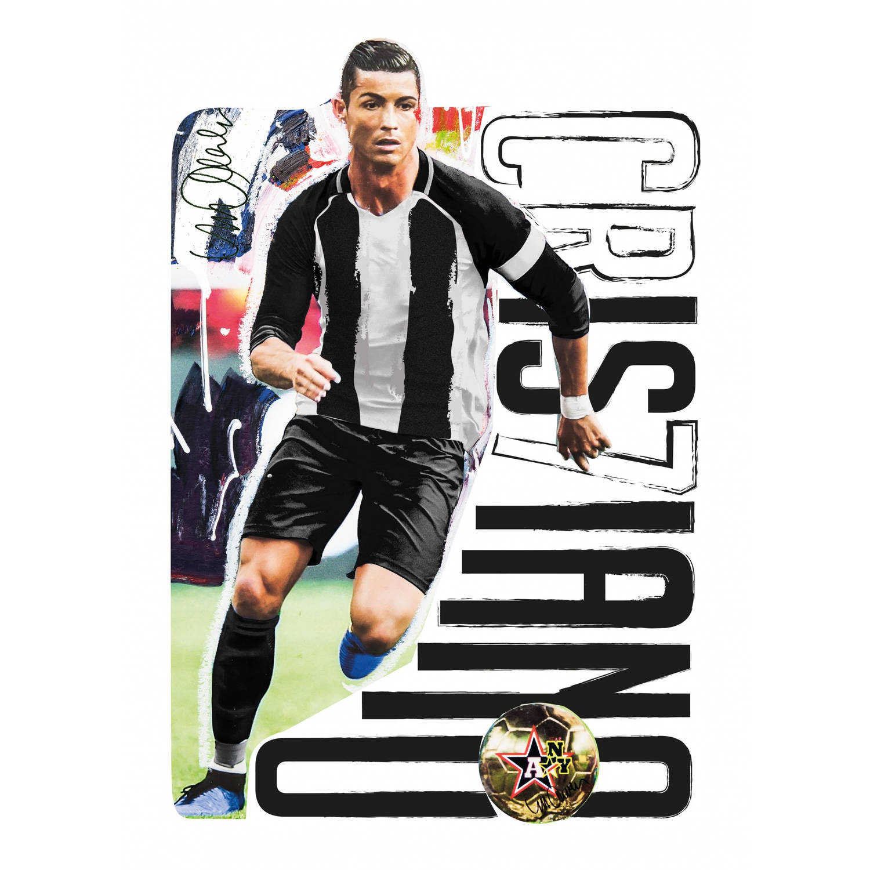 Imagicom muurstickers Cristiano Ronaldo 50 cm