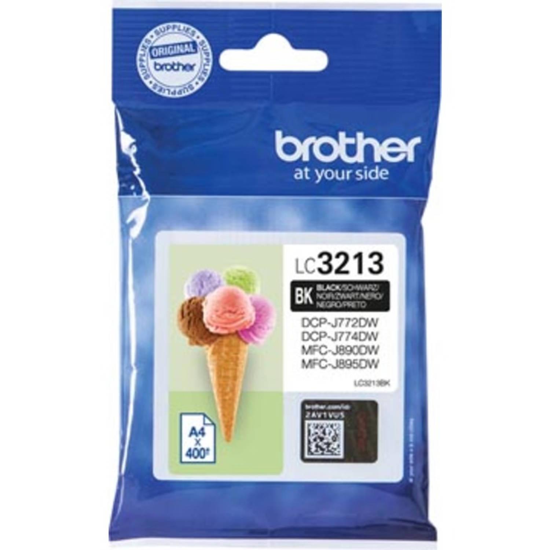 Brother inktcartridge zwart, 200 pagina's - OEM: LC-3211BK