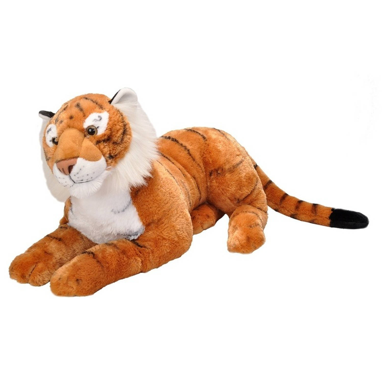 Pluche grote tijger knuffel 76 cm knuffeldier