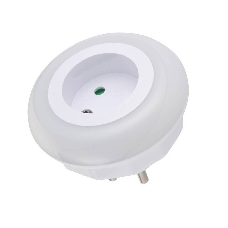 Stopcontact nachtlamp met LED sensor nachtverlichting