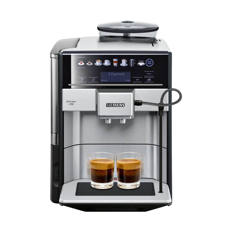 Siemens EQ.6 TE657313RW volautomatische espressomachines – Roestvrijstaal