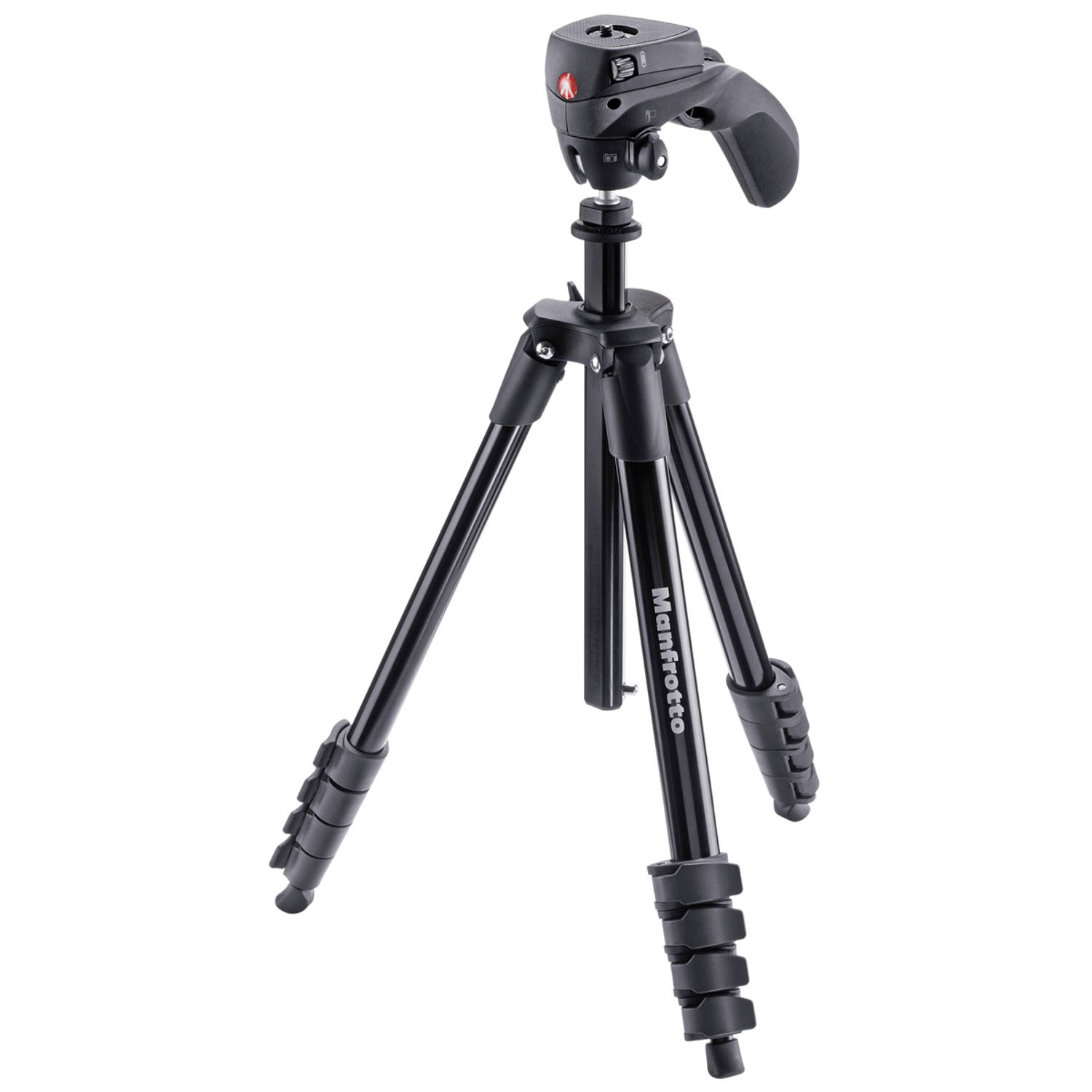 Manfrotto Compact Action – zwart