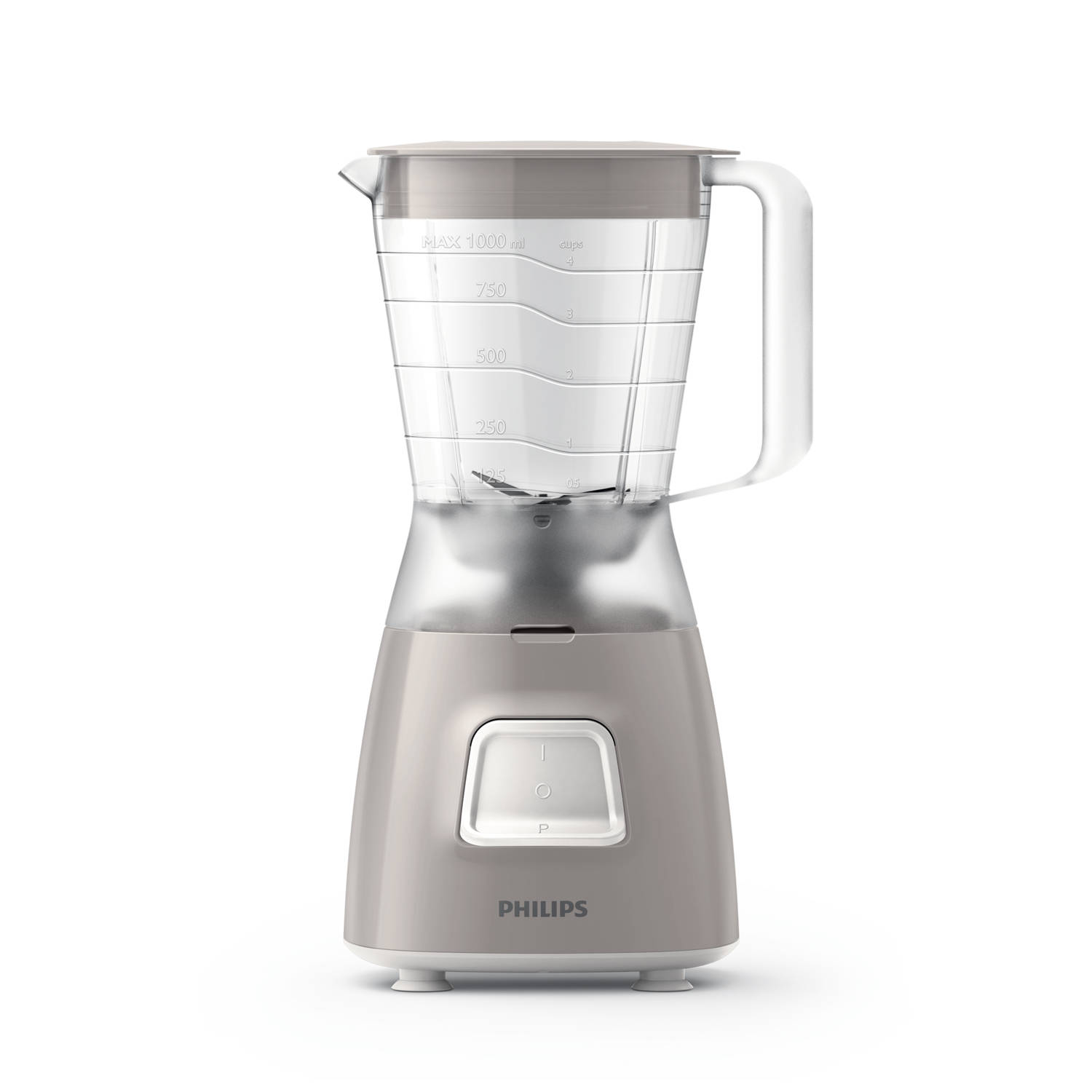 Korting Philips blender Daily Collection HR2056 40 grijs
