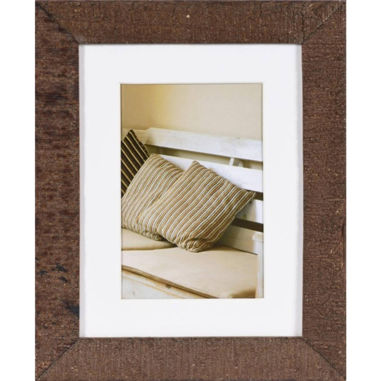 Henzo DRIFTWOOD - Fotolijst - 15 x 20 cm - Fotoformaat 15 x 20 / 10 x 15 cm - Donker Bruin