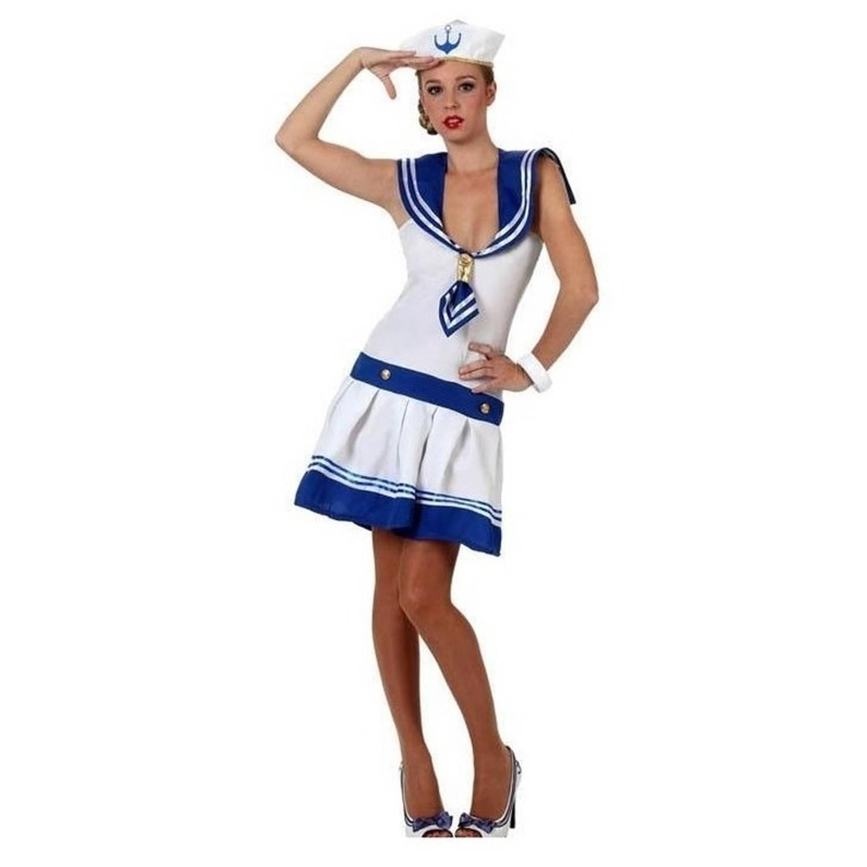 Carnavalskleding Dames Xl.Matrozen Kostuum Jurkje Voor Dames Carnavalskleding Dames Xl 42