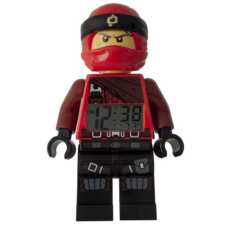 LEGO Ninjago: Kai wekker 23 cm rood/zwart