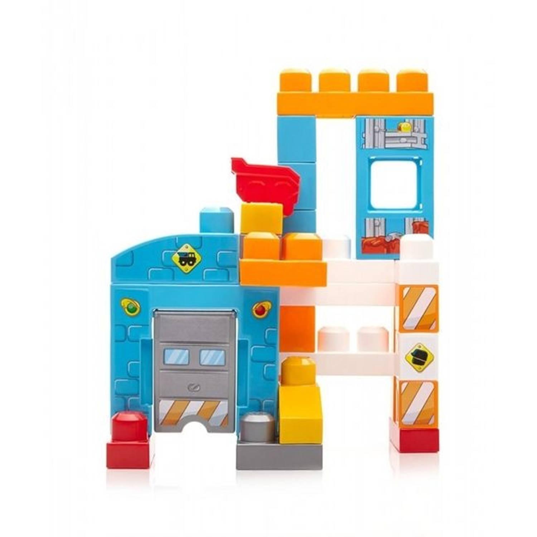 Fisher-Price Mega Bloks First Builders werkplaats 29-delig