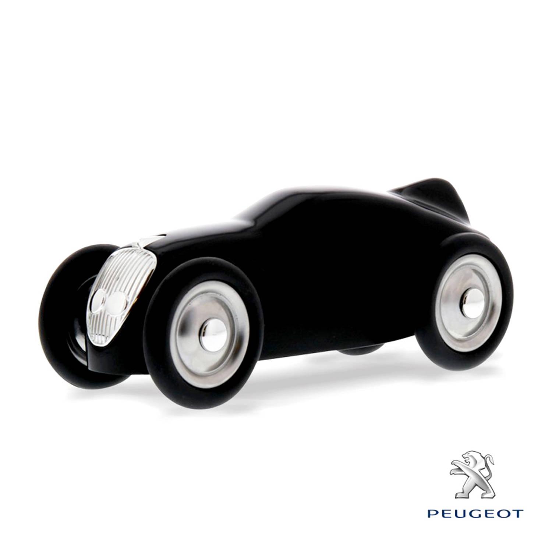 Afbeelding van Baghera Retro Speelgoedauto Peugeot 402 Zwart