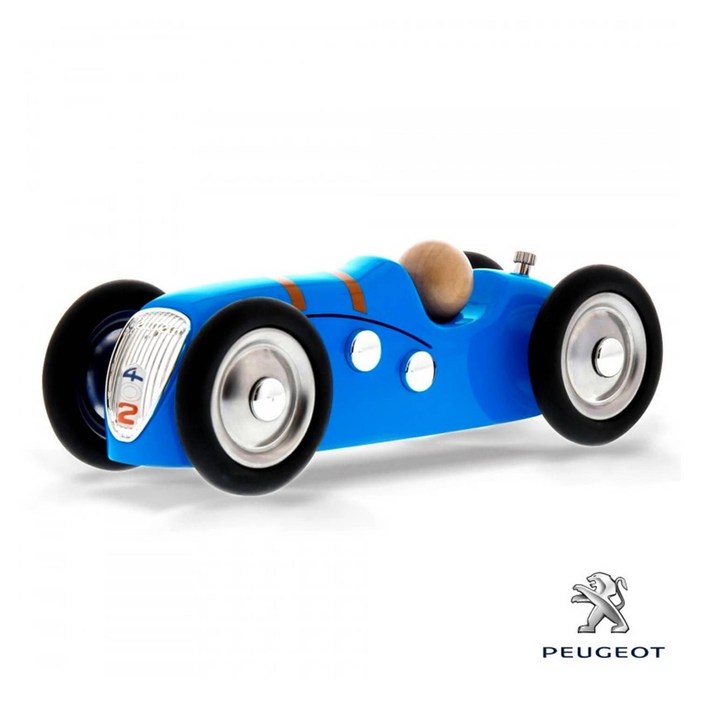 Afbeelding van Baghera Retro Speelgoedauto Peugeot 402 Coupe Blue