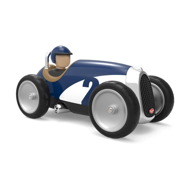 Afbeelding van Baghera Retro Speelgoedauto Racer Blue