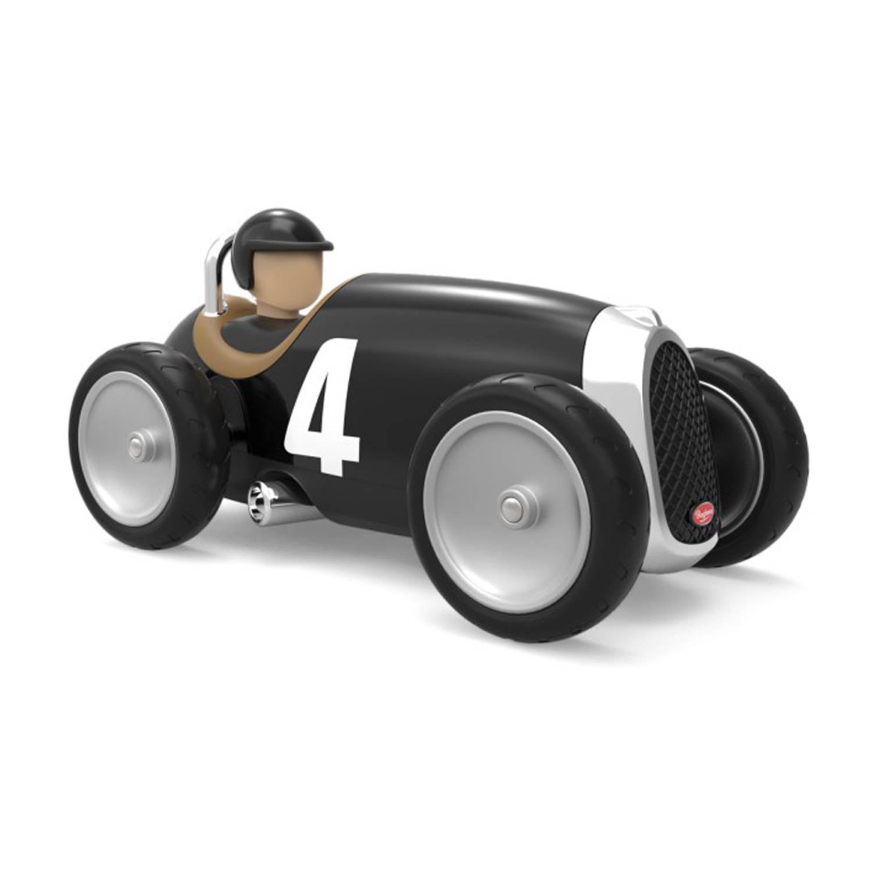 Afbeelding van Baghera Retro Speelgoedauto Racer Black