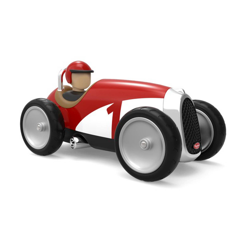 Afbeelding van Baghera Retro Speelgoedauto Racer Red