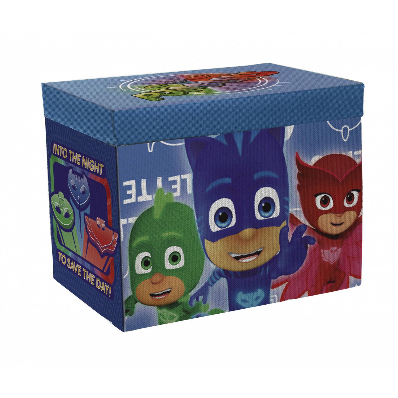 Arditex PJ Masks opbergbox met speelmat 84 x 95 cm / 54L