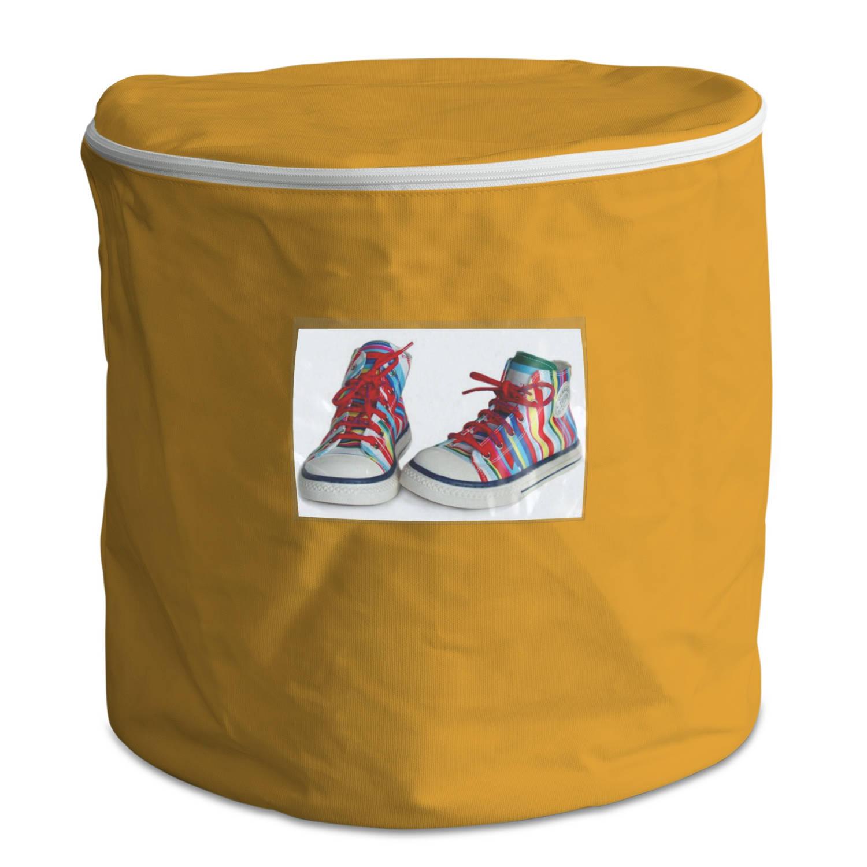 House of Kids persoonlijke opbergbox 50 liter geel