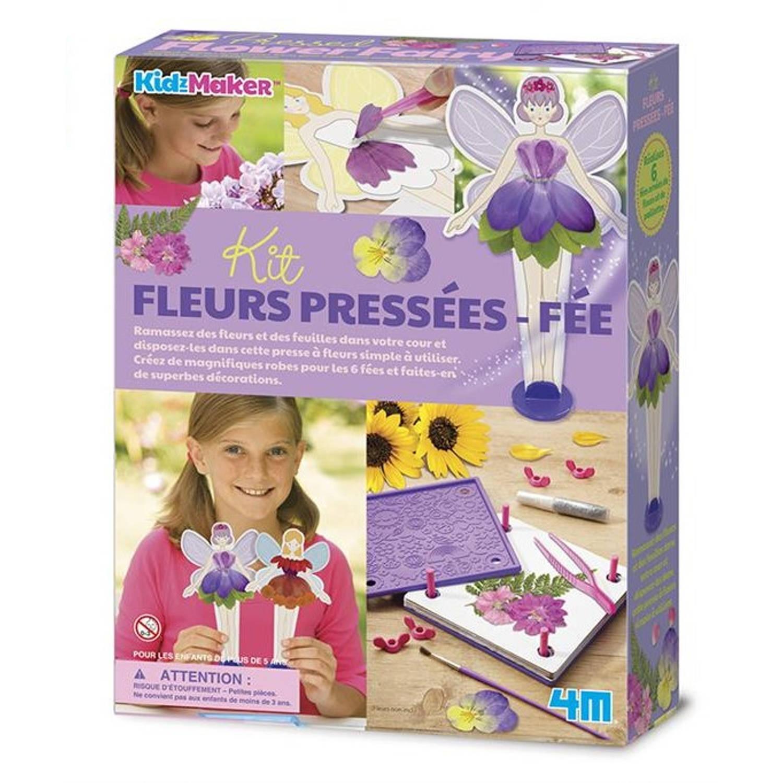 Afbeelding van 4M bloemenpers Flower Fairy 26-delig (fr)