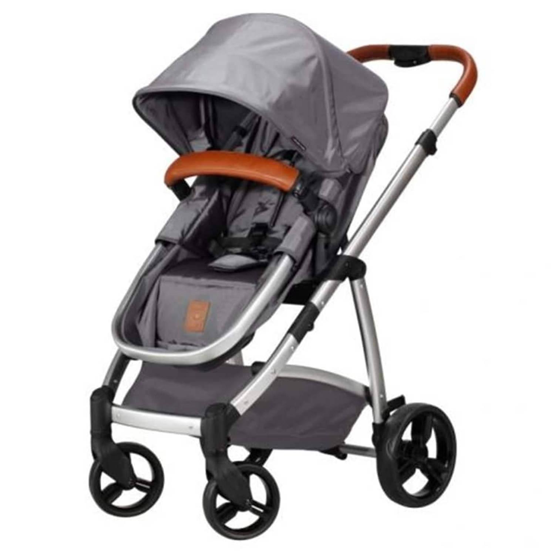 Born Lucky Kinder-/wandelwagen Rapido grijs 07749