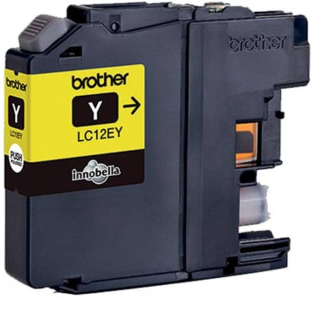 Brother inktcartridge geel, 1.200 pagina's - OEM: LC-12EY