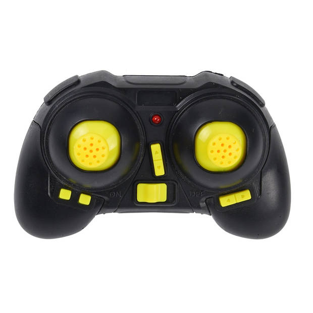 Free and Easy stuntdrone DeexTech 17,5 cm zwart/geel