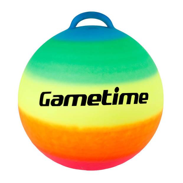 Gametime - Regenboog skippybal 55cm
