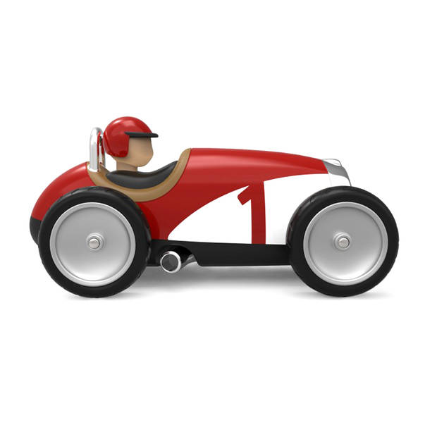 Baghera Retro Speelgoedauto Racer Red
