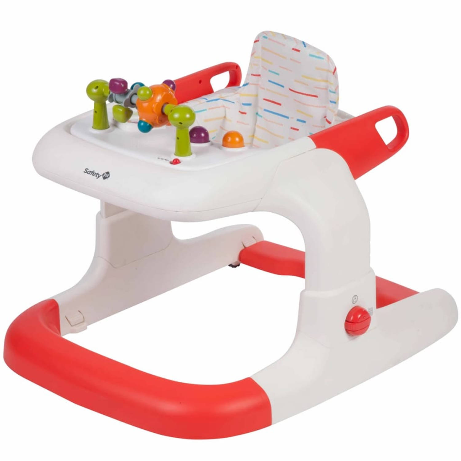 Safety 1st Loopstoeltje Kamino Red Lines rood 2769260000