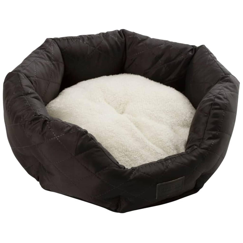 Kerbl Hondenmand Charlotte 45x41x13 cm zwart 80337