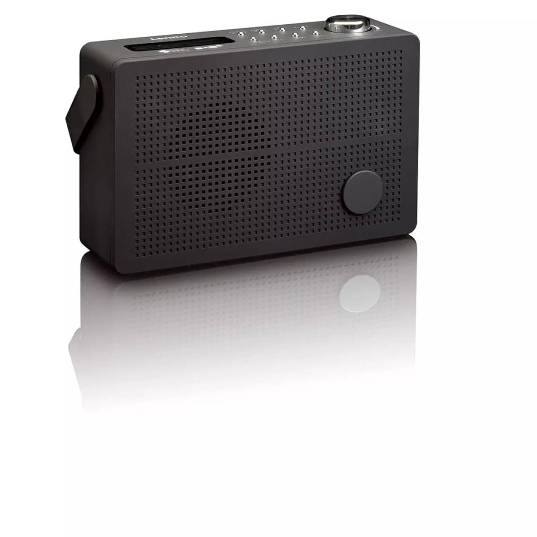Lenco DAB+ wekkerradio met FM PDR-030 zwart