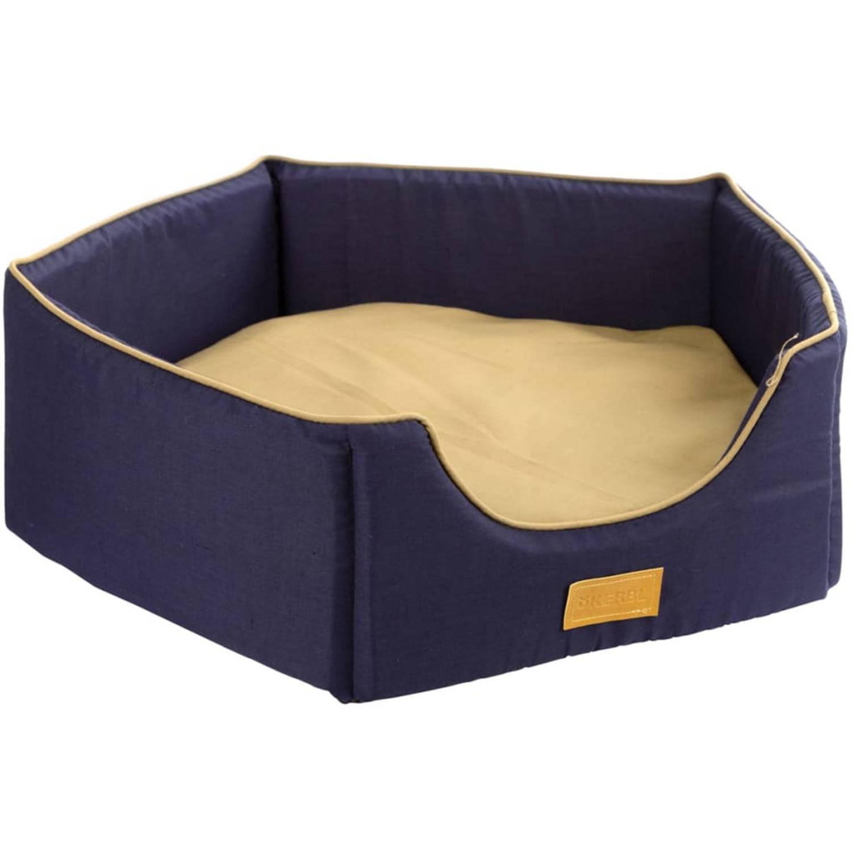 Kerbl Hondenmand Jerome 64x64x20 cm marineblauw 81311