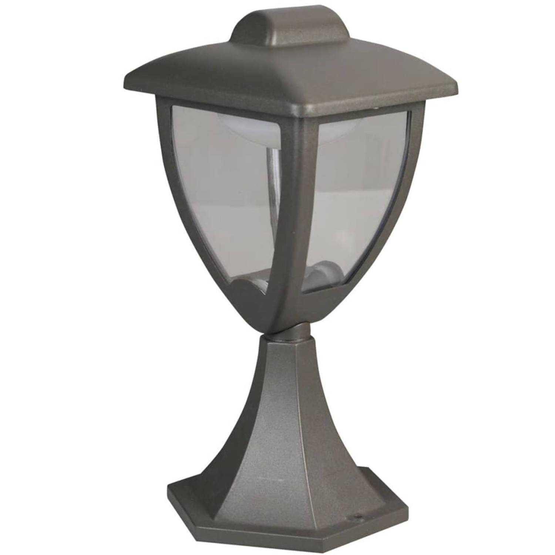 Luxform LED-lantaarn voor buiten Luxembourg 230 V antraciet LUX1608Z