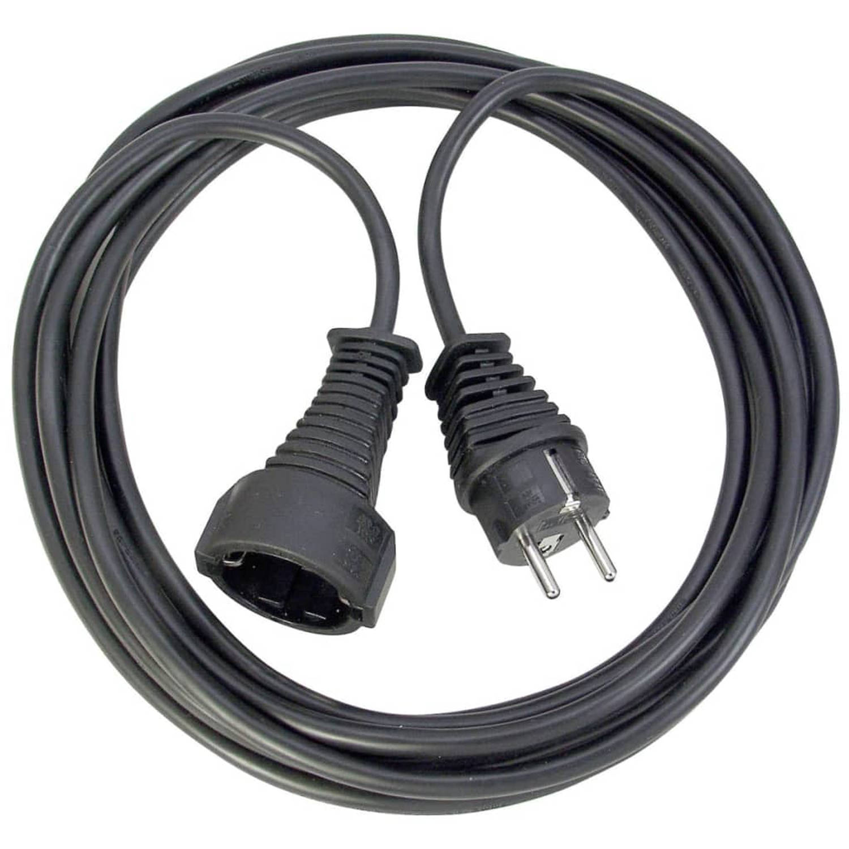 Brennenstuhl Verlengsnoer 25m Zwart H05VV-F