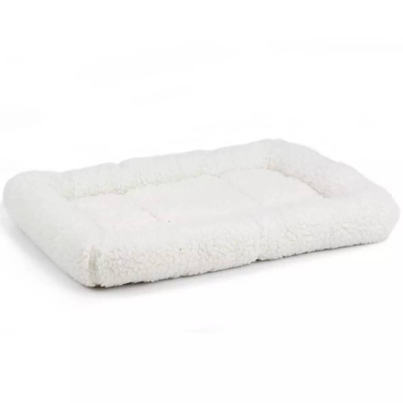 Beeztees Hondenmand synthetisch schapenvacht 62x54x8 cm crème 704068