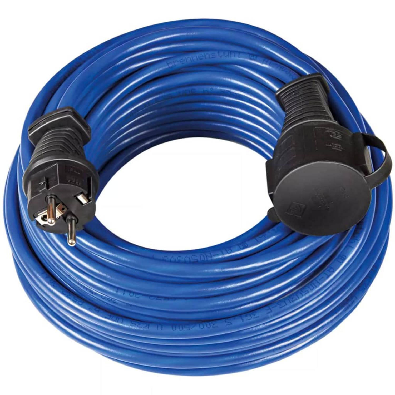 Brennenstuhl Verlengsnoer 25 m Blauw AT-N05V3V3-F
