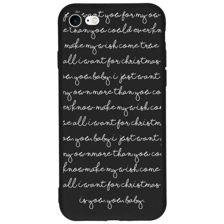 All I Want design siliconen hoesje voor de iPhone 8 / 7