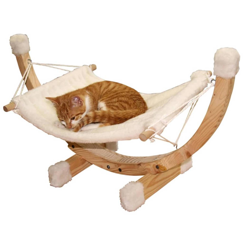 Kerbl Kattenhangmat Siesta wit 82591