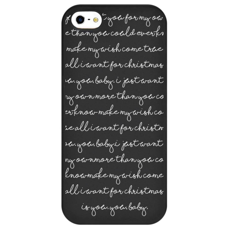 All I Want design siliconen hoesje voor de iPhone 5 / 5s / SE