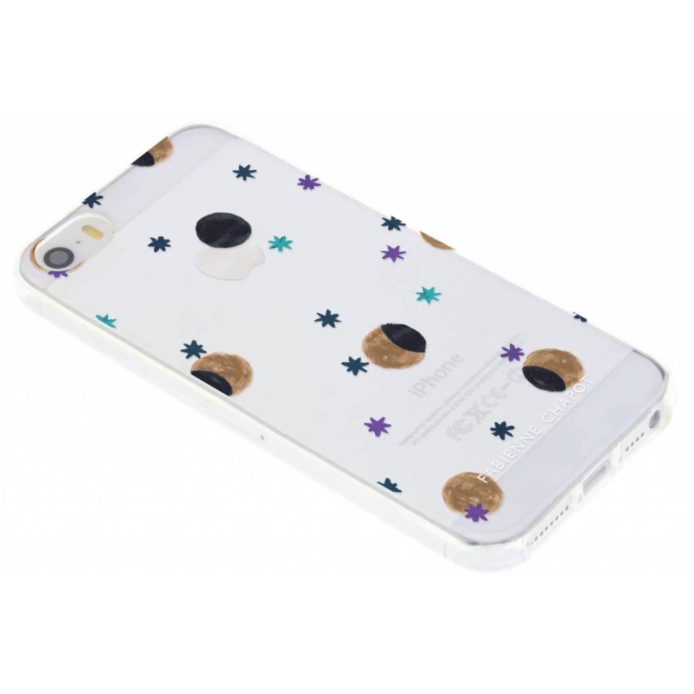 Over The Moon Softcase voor de iPhone 5 / 5s / SE