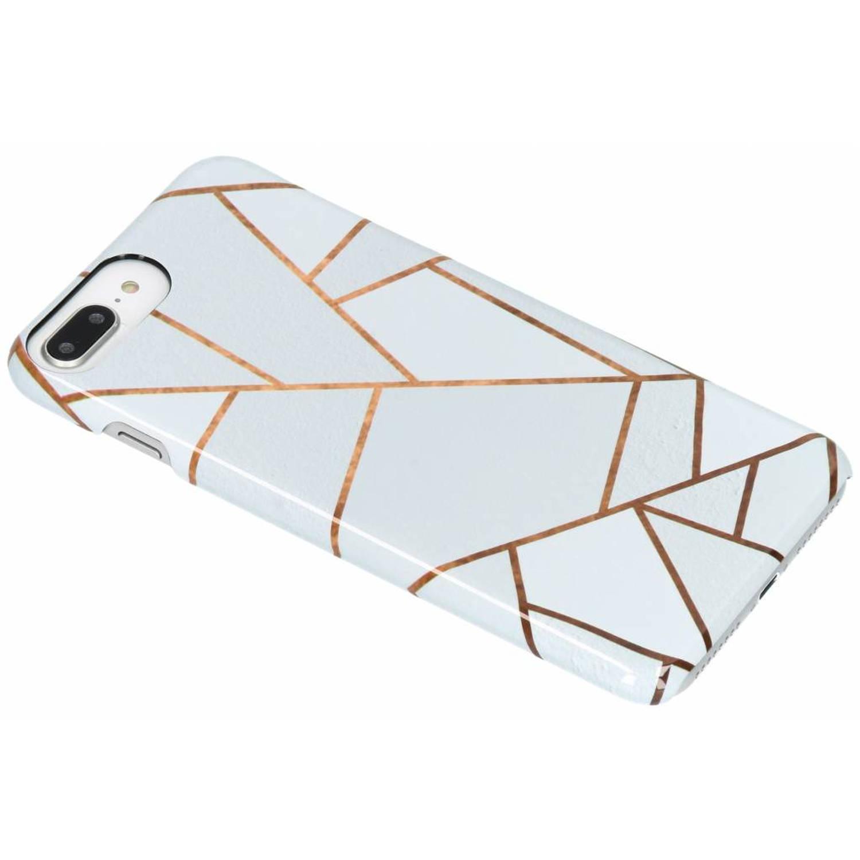 White Graphic Passion Hard Case voor de iPhone 8 Plus / 7 Plus / 6(s) Plus
