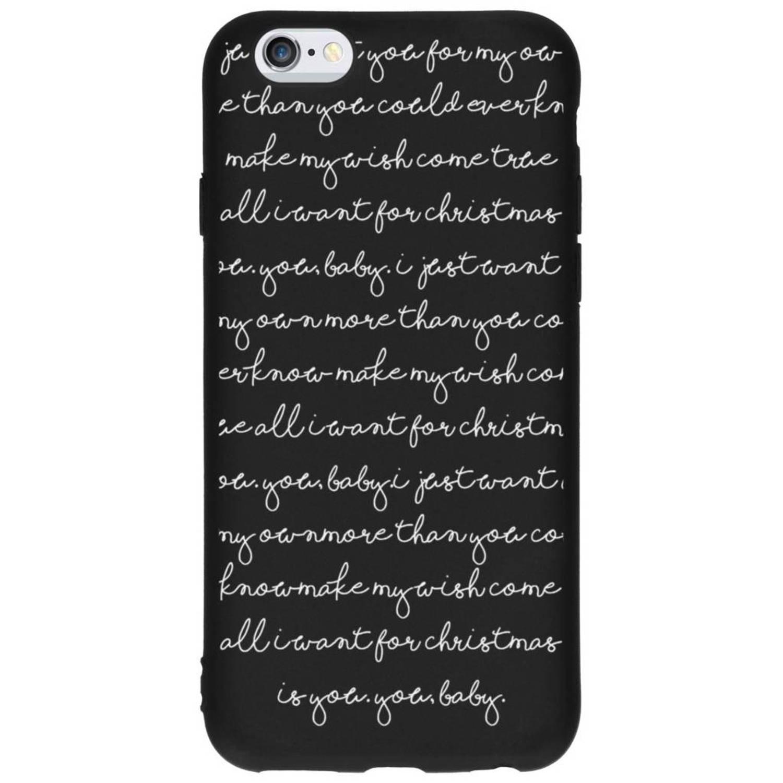 All I Want design siliconen hoesje voor de iPhone 6 / 6s