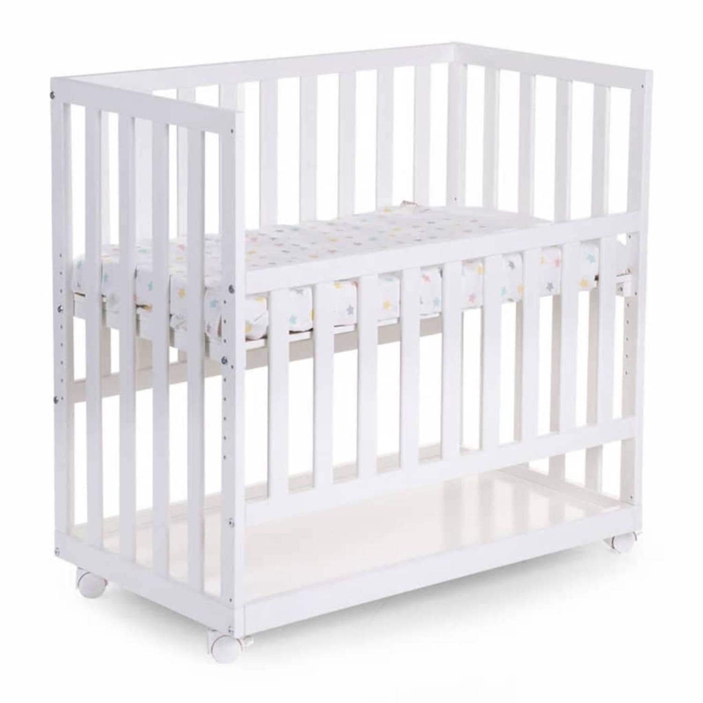 CHILDWOOD Bedkant wieg 50×90 cm wit beukenhout BSCNWI