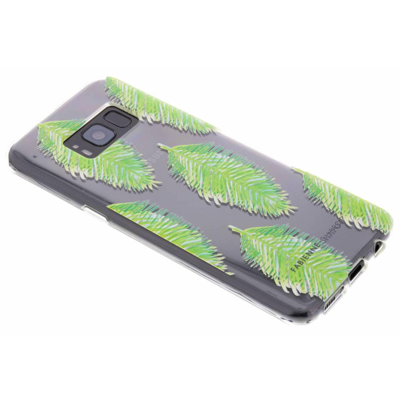Blue Lagoon Softcase voor de Samsung Galaxy S8