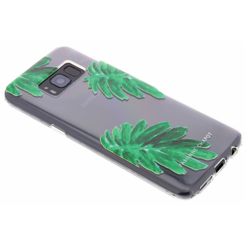 Citrus Leaf Softcase voor de Samsung Galaxy S8