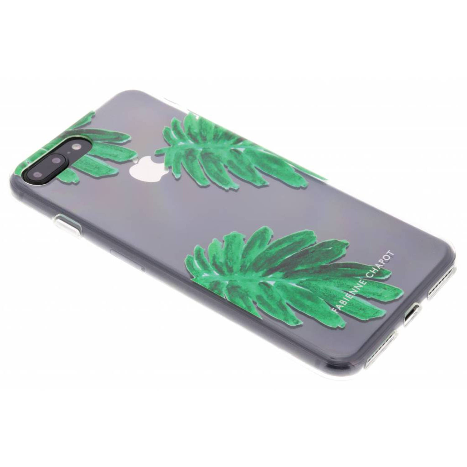 Citrus Leaf Softcase voor de iPhone 8 Plus / 7 Plus