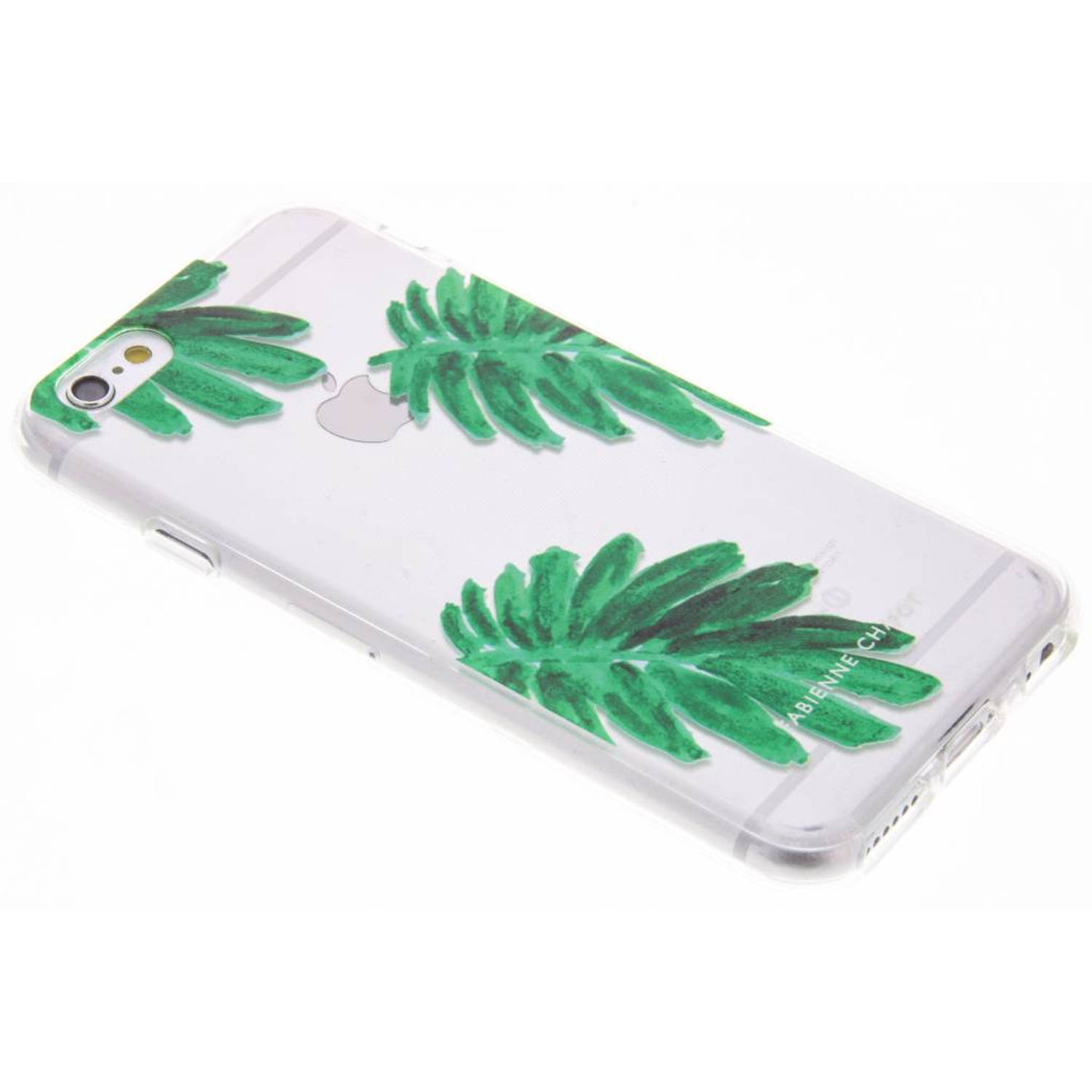 Citrus Leaf Softcase voor de iPhone 6(s) Plus