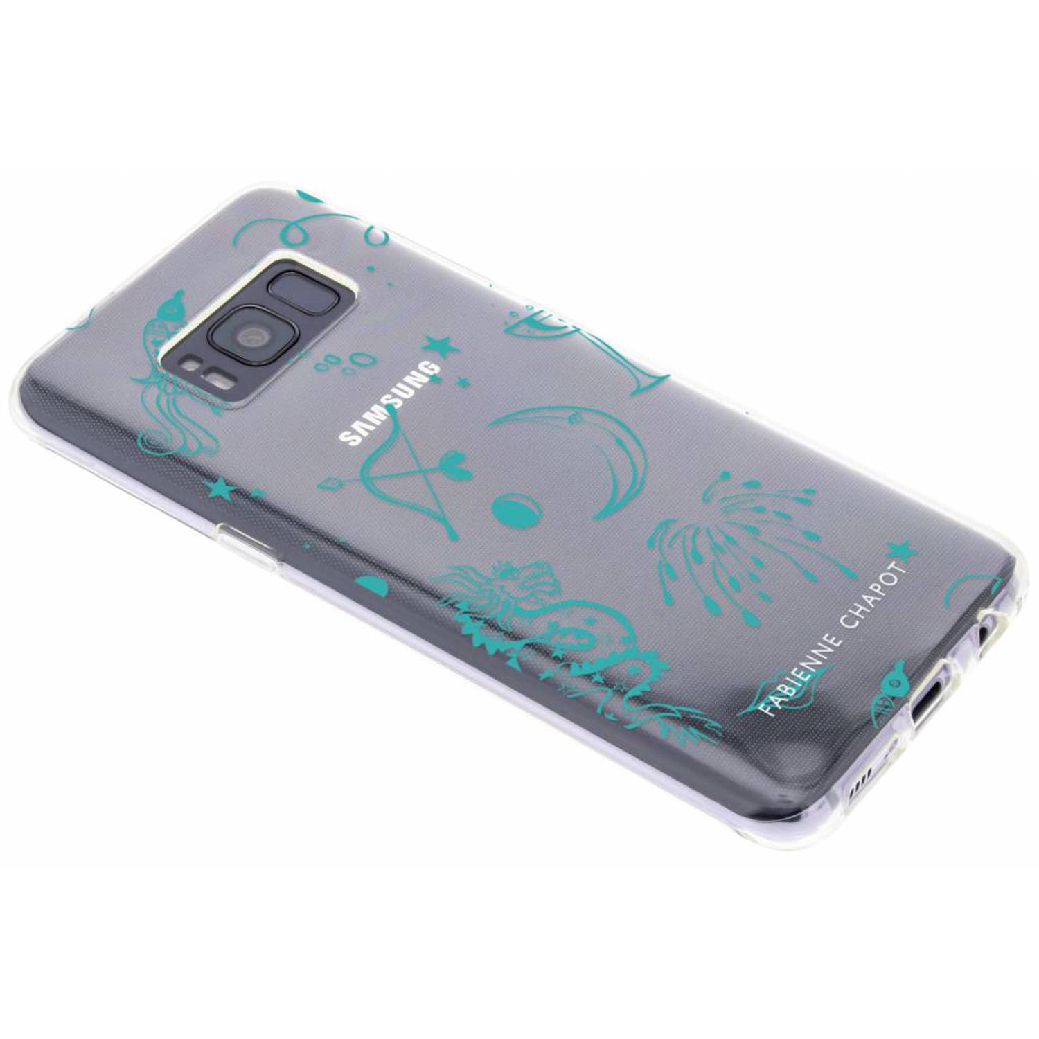 Paris By Night Softcase voor de Samsung Galaxy S8