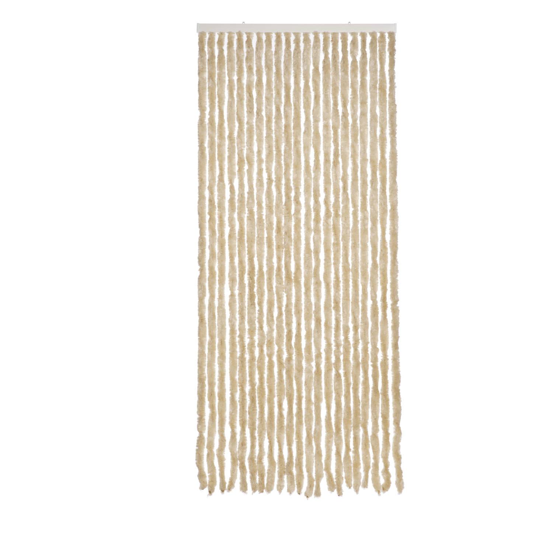 Korting Royal Patio kattenstaartgordijn 90 x 210 cm beige